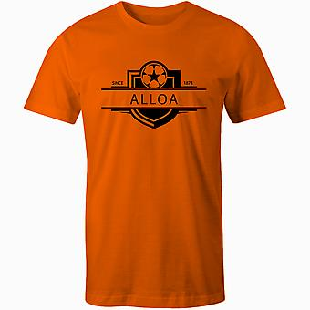 Alloa Athletic 1878 Established Badge Football T-Shirt