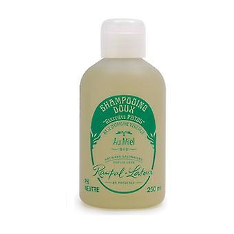 Natural honey shampoo, honeysuckle scent 250 ml