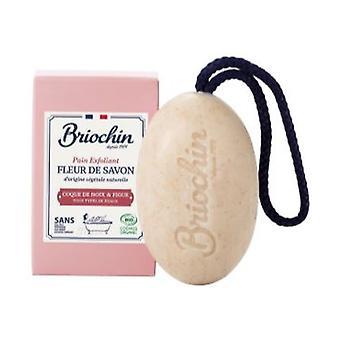 Fig & Walnut Shell Soap Flower Exfoliating Bar 200 g