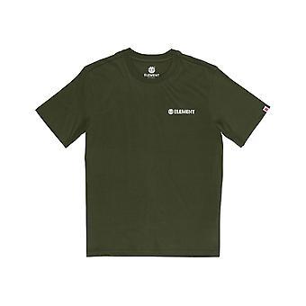 Elemento Blazin Chest T-Shirt de Manga Curta na Noite da Floresta