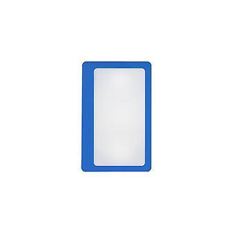 Vergrootglas creditcardformaat (blauw)