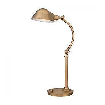 Lámpara Thompson, Latón Antiguo