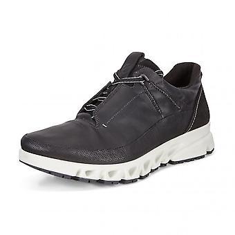 ECCO 880124 Multi Vent Men's Gore-tex Leather Shoe In Black