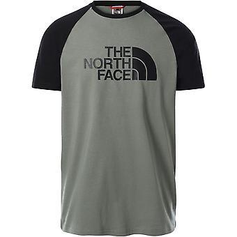 North Face Raglan Easy T937FVV38 universella män t-shirt