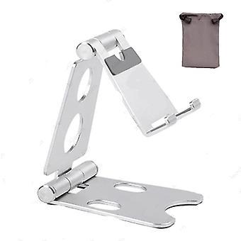 aluminium justerbar fold holder tablett stativ for ipad samsung xiaomi tablett