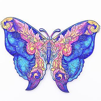 Children's vlinder houten puzzel speelgoed A5