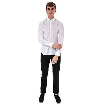 Chemise ajustée à manches longues Henri Lloyd En blanc