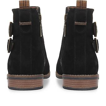 Barbour Womens Cornbury Leather Ankle Boots