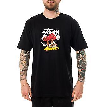 Men's T-shirt stussy something's cookin' tee black 1904657.black