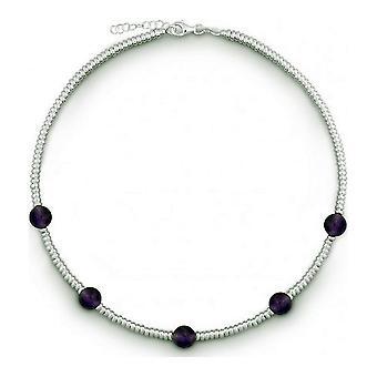 QUINN - Halskette - Damen - Silber 925 - Edelstein - Amethyst - 27312333