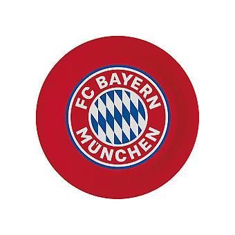 8 Assiettes en carton FC Bayern Munich 23 cm