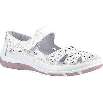 Fleet & Foster jasmine leather Womens Flat Shoes white memory foam UK Size