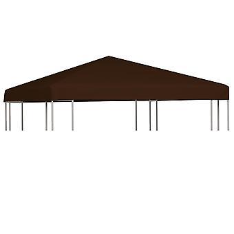 vidaXL pavilion roof 310 g / m2 3x3 m brown
