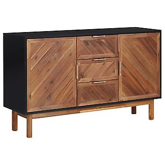 vidaXL buffet 115x35x70 cm bois massif acacia et MDF