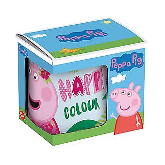 Mugg Peppa Pig Greta Gris
