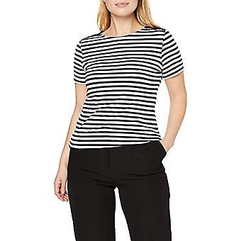 ESPRIT Collection 027eo1k026 T-Shirt, Blue (Navy), 38 (Size Manufacturer: Medium) Women