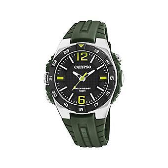 Calypso Uhren Analog Quarzuhr Herren mit Kunststoffarmband K5778/2