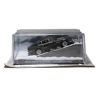 Aston Martin V8 (med skidor) från James Bond The Living Daylights