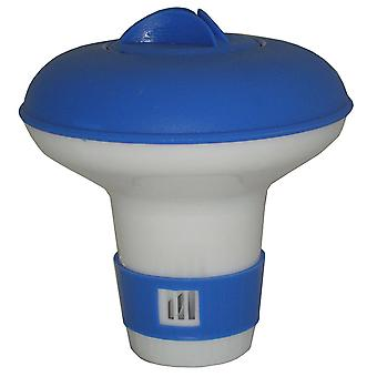 Jed Pool 10-451 Mini Floating Chlorine and Bromine Dispenser