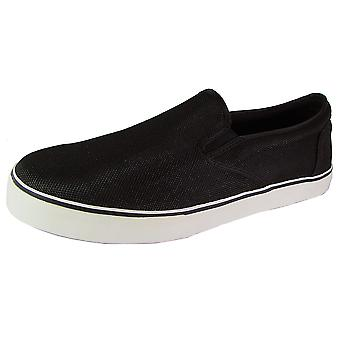Madden Mens M-Roby Slip On Canvas Sneaker Shoes