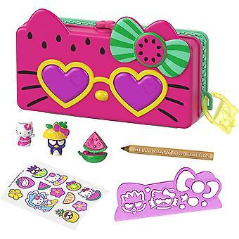 Hello Kitty - Vesimeloni lyijykynä leikkisetti