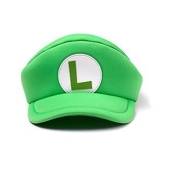 Nintendo - Luigi Logo Curved Bill - Groen