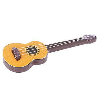 Guitare Poupée Maison Miniatures Belle Mignonne Jardin De Fée Gnome Moss Musical