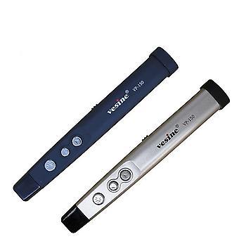 VP150 Strona Pióro laserowe PPT Flip Pen Elektroniczny wskaźnik wskaźnik laserowy Bezprzewodowy prezenter USB