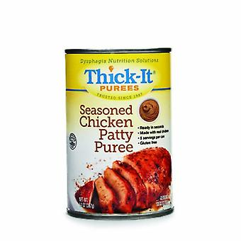 Thick-It Puree Thick-It 14 oz. Container Can Seasoned Chicken Patty Flavor Ready to Use Puree Consistency, 1 Each
