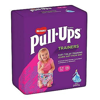 Disposable nappies Huggies Pull Ups Trainers
