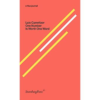 Um número vale uma palavra por Luis Camnitzer