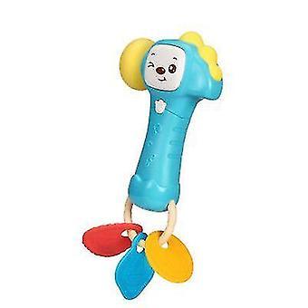 Baby muzikale hamer, rammelaar speelgoed met lichte muziek, baby vroege onderwijs speelgoed (groen)