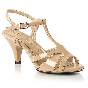 Fabulicious Women's Shoes BELLE-322 Nude Pat/Nude