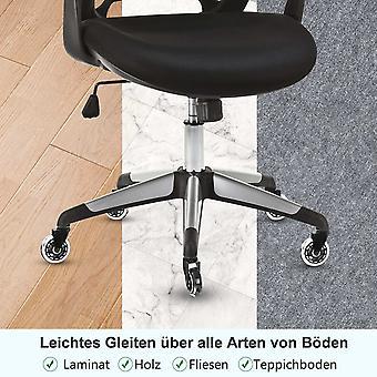 Hartboden-Rollen für Bürostuhl 11x 22mm, 5er Gaming-Bürostuhlrollen Ersatzrollen Drehstuhlrollen