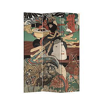 Fine Asianliving Room Divider Personvern Skjerm 3 Paneler W120xH180cm Japansk Myte