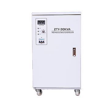 Stabilisateur de tension triphasé PNI SVT-30K avec servomoteur, 30kVA, 18kW, Gray