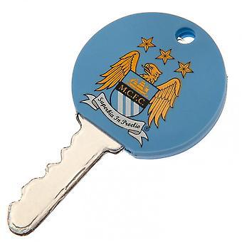Manchester City FC Key Cap Officiell licensierad produkt