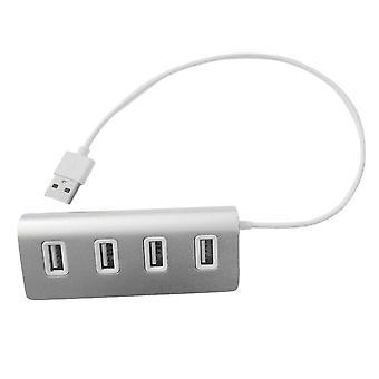 USB-Hub mit 4 Ports Aluminium