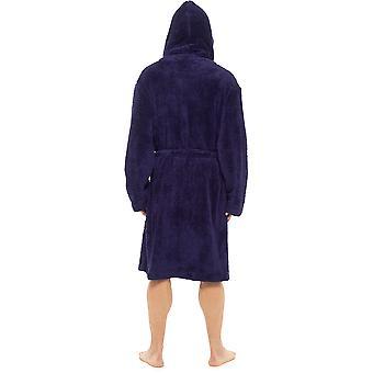 الرجال مقنعين أشعث الصوف خلع الملابس ثوب البحرية الكبيرة / X-كبير 44-48