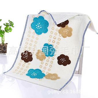 [towels] Spot Non-twist Absorbent Printed Towels To Wipe Face And Household Daily Hand Towels