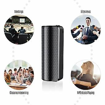 32GB Digital Audio Voice Recorder Voice Activated Mini USB Pen Mp3 Player Recording