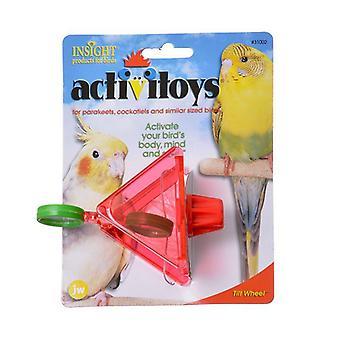 JW Insight Tilt Wheel Bird Toy - Tilt Wheel Bird Toy