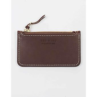 Red Wing 95038 Zipper Pouch Wallet - Amber Frontier
