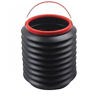 Trash cans wastebaskets automobile universal collapsible trash can