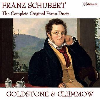 Schubert / Schumann / Goldstone & Clemmow - Schubert: Complete Works for Piano Duet [CD] USA import