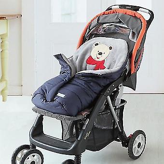 Herfst winter warme baby slaapzak slaapzak voor kinderwagen, zachte slaapzak voor slaapzak, zak