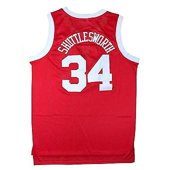 Jesus Shuttlesworth #34 Lincoln High School Basketball Jersey 90s Hip Hop Clothes For Party Men He Got Game Movie Jerseys