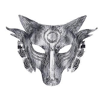 Cosplay Wolf kostuum masker volgelaatsmasker voor mannen vrouwen