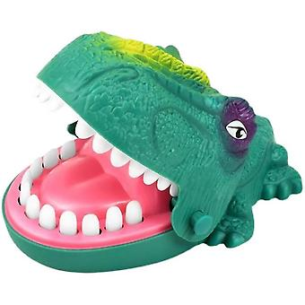 Överdimensionerad bitande dinosaurie ångest lättnad leksaker rolig fest leksak grön