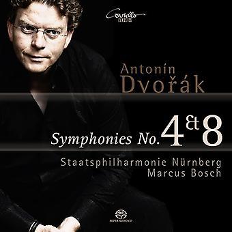 Dvorak / Bosch / Staatsphilharmonie Nurnberg - Syms 4 & 8 [SACD] USA import